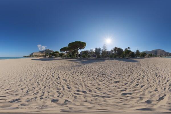 فایل HDRI آسمان در سواحل موندلو عکس اصلی