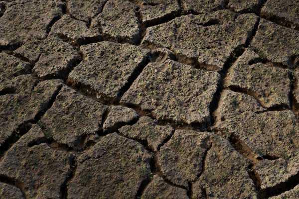 متریال خاک cracked soil عکس اصلی