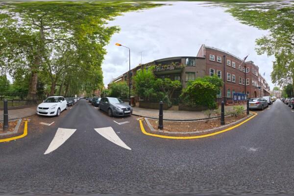 فایل HDRI خارجی خیابان شهری 01 عکس اصلی