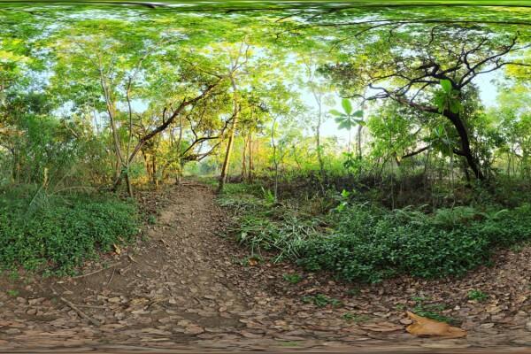 فایل HDRI خارجی پیاده روی رودخانه 1 عکس اصلی