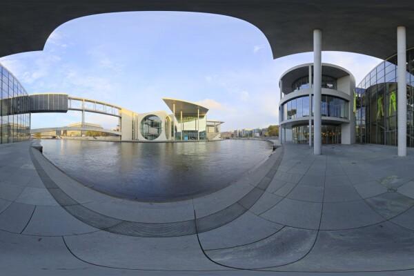 فایل HDRI خارجی ساختمان های مدرن عکس اصلی