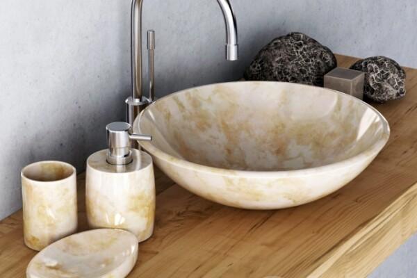 آبجکت سه بعدی دستشویی مرمر عکس اصلی