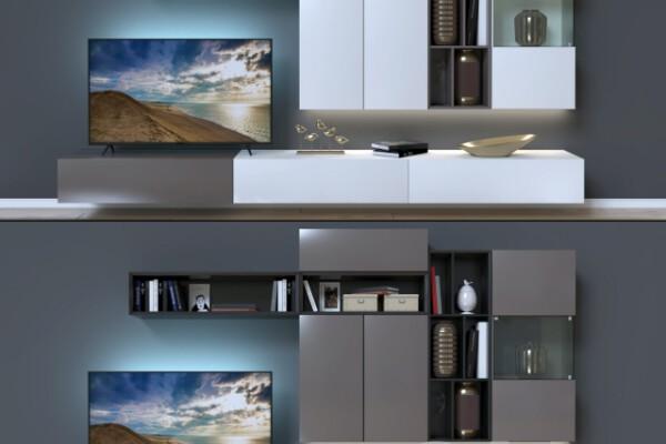 آبجکت سه بعدی تلویزیون دیواری عکس اصلی
