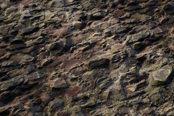 متریال دیوار سنگی فوشیا عکس اصلی