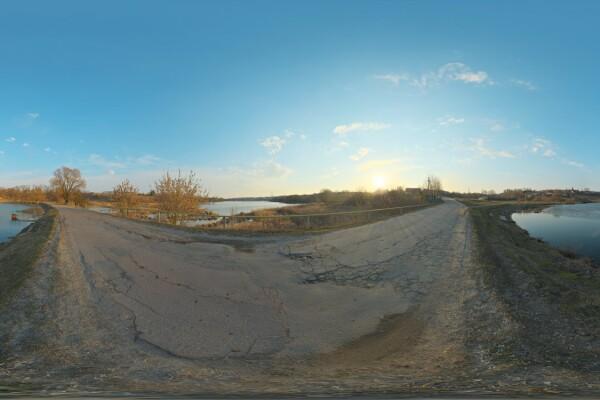 فایل HDRI دریاچه عکس اصلی