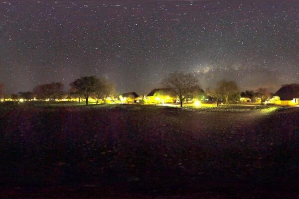 فایل HDRI آسمان پر ستاره عکس اصلی