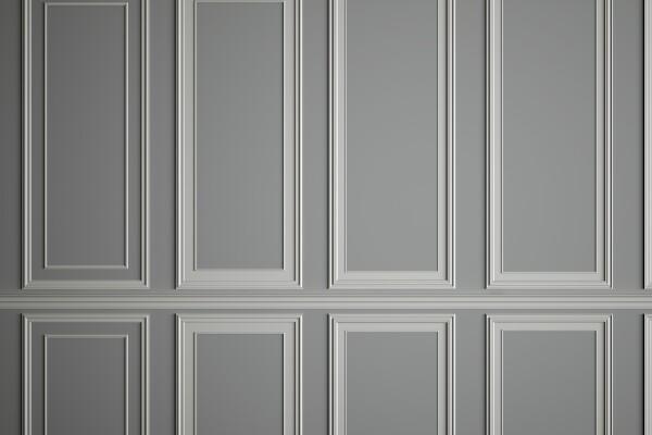 آبجکت سه بعدی قالب سازی روی دیوار عکس اصلی