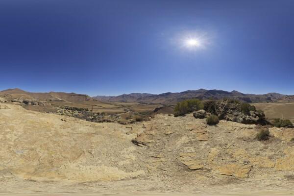 فایل HDRI خارجی آسمان روز عکس اصلی