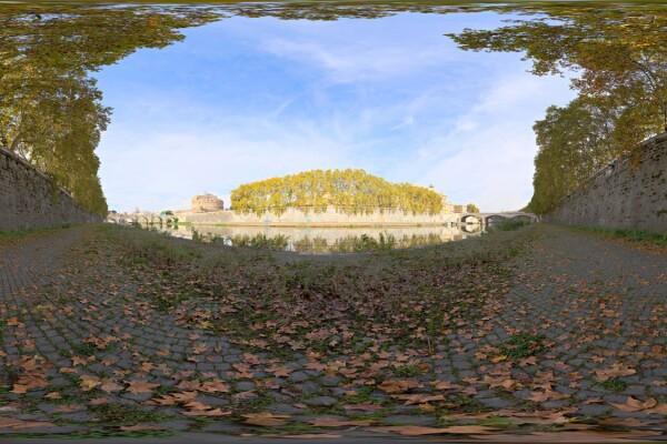 فایل HDRI خارجی اروپا tiber 2 عکس اصلی