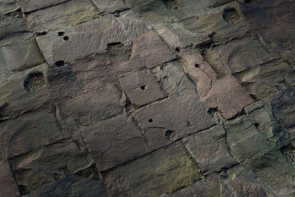 متریال دیوار سنگی قدیمی عکس اصلی