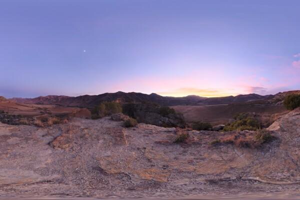 فایل HDRI آسمان و کوهستان عکس اصلی