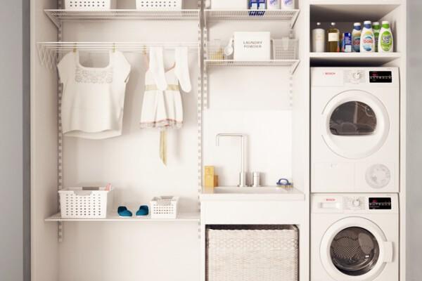 مدل سه بعدی اتاق لباس شویی و رختشویی عکس اصلی