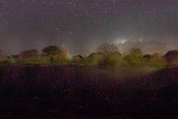 تصویر رایگان HDRI آسمان شب عکس اصلی