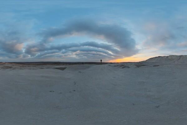 تصاویر HDRI آسمان ابری معدن گچ عکس اصلی