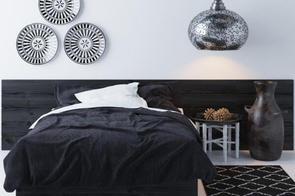 آبجکت سه بعدی اتاق خواب عربی  سیاه عکس اصلی