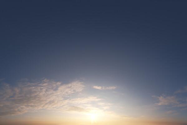 فایل اچ دی ار ای آسمان غروب عکس اصلی