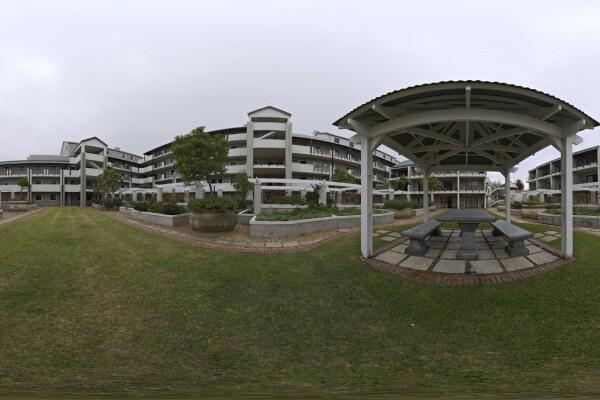 فایل HDRI خارجی باغ مسکونی عکس اصلی