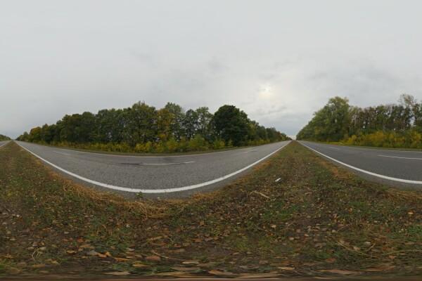 فایل HDRI طبیعت پاییز عکس اصلی