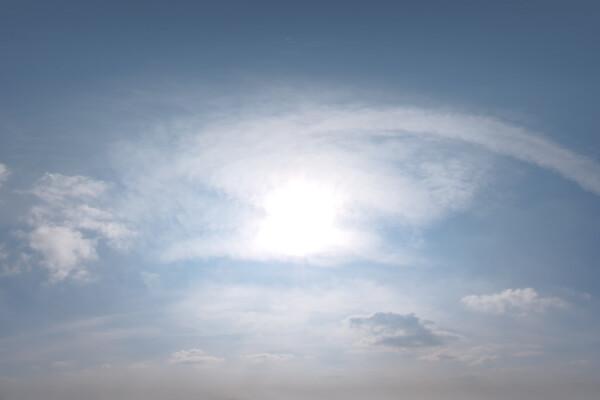فایل HDRI آسمان ابری عکس اصلی
