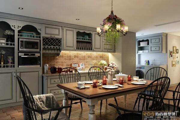 صحنه آماده آشپزخانه کلاسیک عکس اصلی