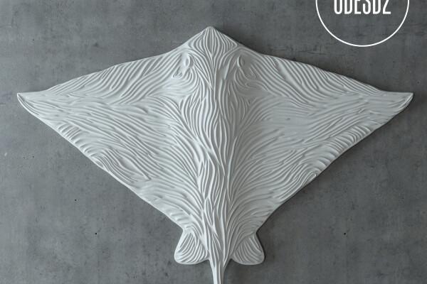 آبجکت مجسمه سفره ماهی عکس اصلی