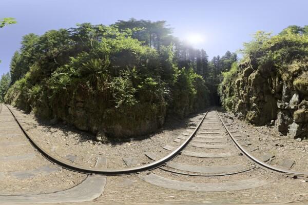 فایل HDRI خارجی مونتون سقوط تونل قطار به شرق عکس اصلی