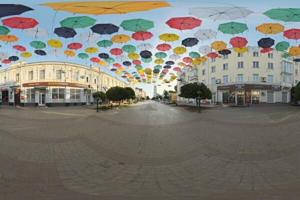 فایل HDRI خارجی چترهای فضای باز عکس اصلی