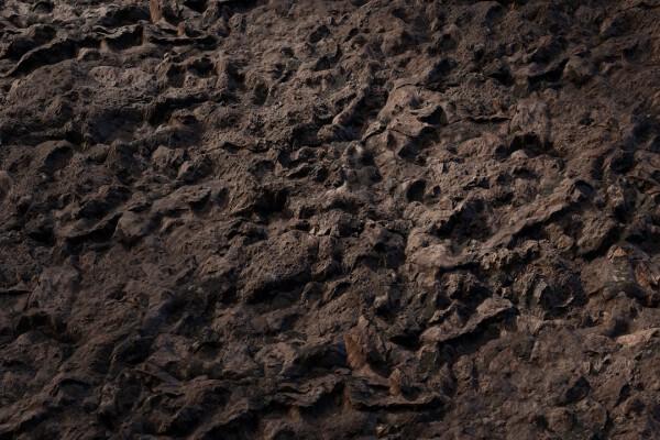 متریال صخره ناهموار عکس اصلی