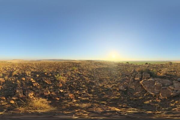 فایل HDRI آسمان صاف روز عکس اصلی