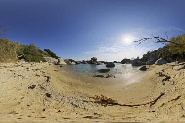 فایل HDRI ساحل کثیف عکس اصلی
