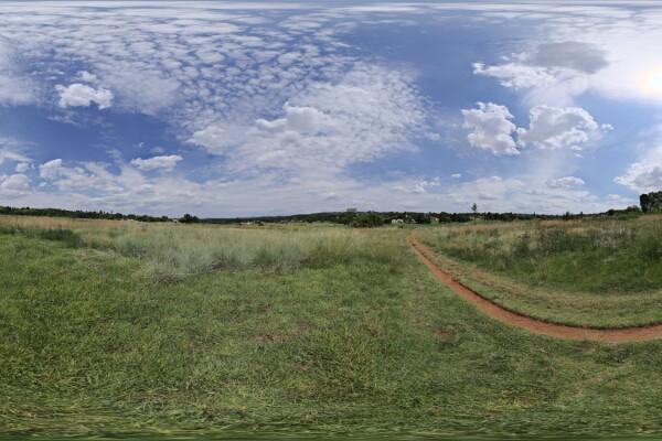 فایل اچ دی ار ای آسمان روز و چمن عکس اصلی