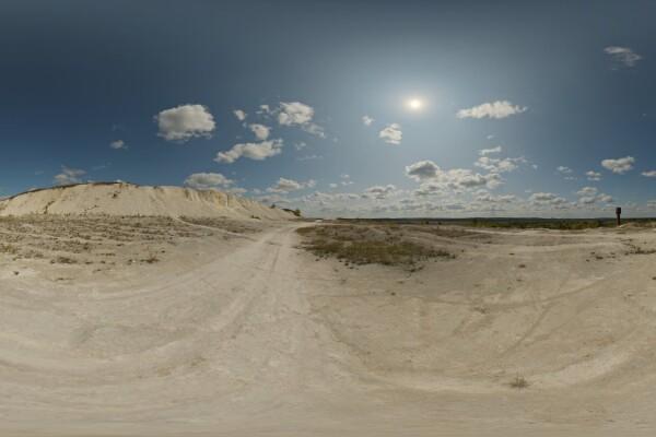فایل HDRI آسمان روز معدن عکس اصلی