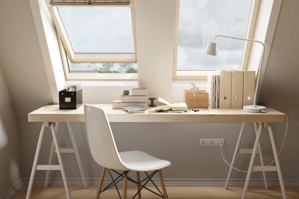 مدل سه بعدی میز و صندلی دفتر کار عکس اصلی