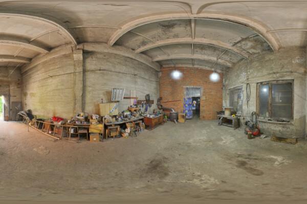 فایل HDRI محل تعمیرات خودرو عکس اصلی
