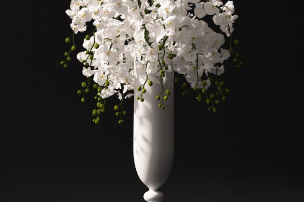 آبجکت سه بعدی  دسته گل ارکیده عکس اصلی