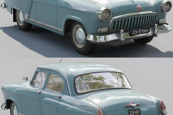 آبجکت 3 بعدی اتومبیل عکس اصلی
